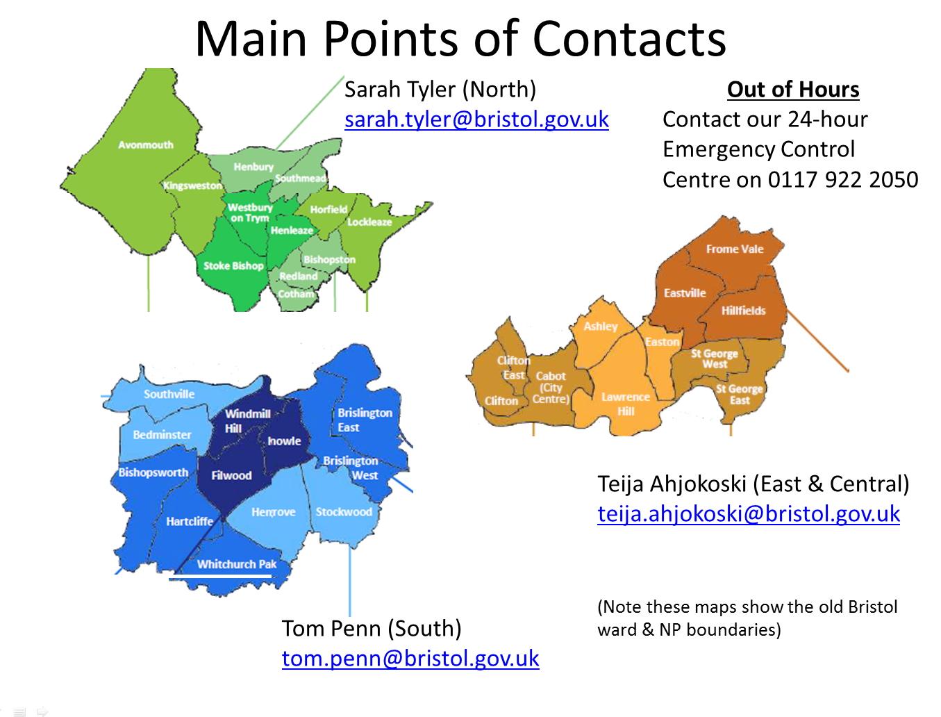 Parks Contacts Dec 16